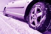 冬のタイヤ — ストック写真
