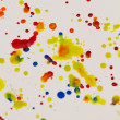 Paint splashing — Stock Photo