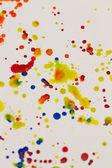 Paint splashing — Stock Photo