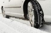 冬季轮胎 — 图库照片