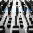 Recording Mixer — Stockfoto