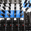 Stock Photo: Recording Mixer