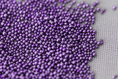 Pile purple balls — Stock Photo
