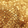 Golden fabric — Stock Photo #39831019