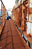 Symmetrical safety ramp. — Stock Photo