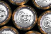 飲料缶の多く — ストック写真
