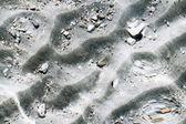 Le sable sous l'eau — Photo