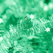Tinsel. Christmas decoration. — Stock Photo #40134097