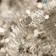 Tinsel. Christmas decoration. — Stock Photo #41208143