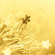 Tinsel. Christmas decoration. — Stock Photo #41208171