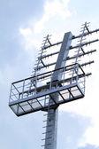 Iron antenna — Stock Photo