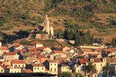 Croatia , Vis island, Komiza town — Stock Photo