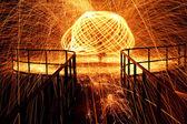 Hot glowing — Stock Photo