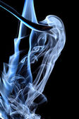 Blue smoke — Fotografia Stock