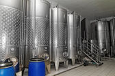 Winery in the factory — Stock Photo