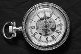 Reloj de plata — Foto de Stock