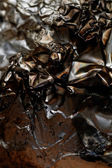 Burnt foil — Stock Photo