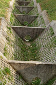 Dry ditch — Stock Photo