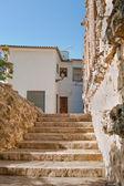 Gamla hem i el castell de guadalest, alicante, Spanien. — Stockfoto