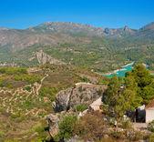 Views of Reservoir of El Castell de Guadalest, Alicante, Spain — Stock Photo