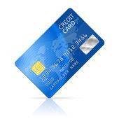 Carta di credito — Vettoriale Stock