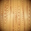 Vector wood planks background - Stock Vector