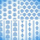 飾りパターン — ストックベクタ