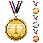Award Medals — Stock Vector