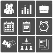 Business icons - Stock Vector