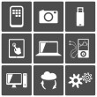 Technology icons — Stock Vector #19409227
