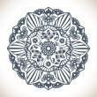 Mandala Round Ornament Pattern — Stock Vector