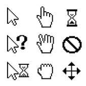 鼠标光标 — 图库矢量图片