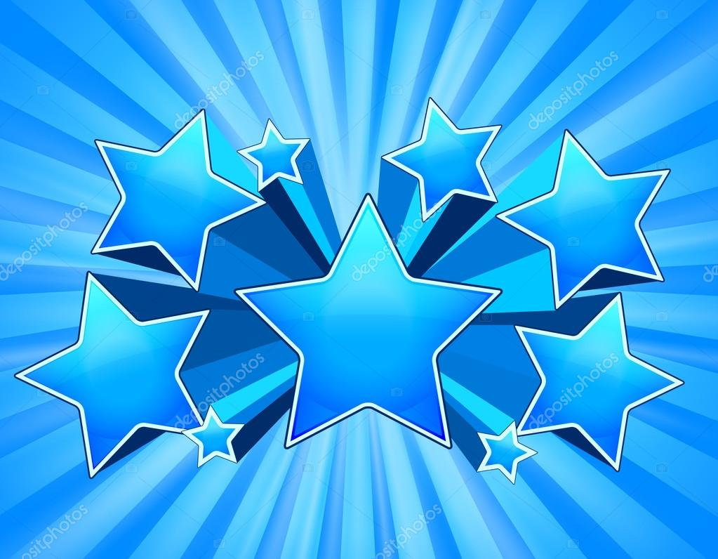 blue star background vector - photo #22