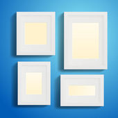 Modern Picture Frames — Stock Vector