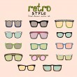 Hipster retro glasses — Stock Vector #41001467