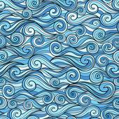 морской волны шаблон — Cтоковый вектор