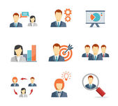 Business people for Web and Mobile App — Stock Vector