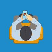 Mobile app — Stock Vector