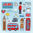 London landmarks — Stock Vector #45909645
