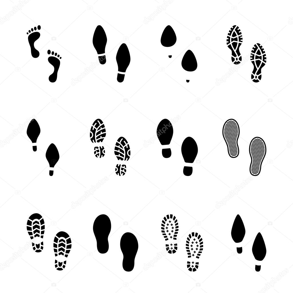 Paw Print Running Shoes