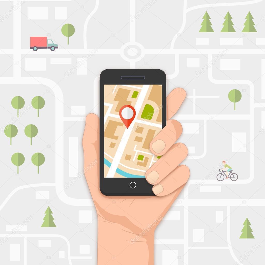 мобильная навигация