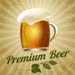 Beer poster — Stock Vector #51119367