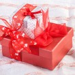 Stock Photo: Festive boxes