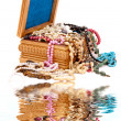 Wooden jewel box — Stock Photo #13700809