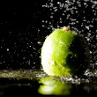 Lime under water jets — Stock Photo #15330835