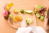 Cocktail of orange — Stock Photo