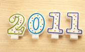 Happy new year 2011 — Foto Stock