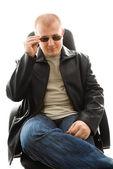 Man in sunglasses — Stock Photo