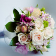 Wedding bouquet of flower — Stock Photo