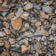 Sharp rocks texture — Stock Photo
